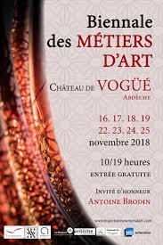 Exposition à la Biennale des Métiers d'Arts de Vogüé